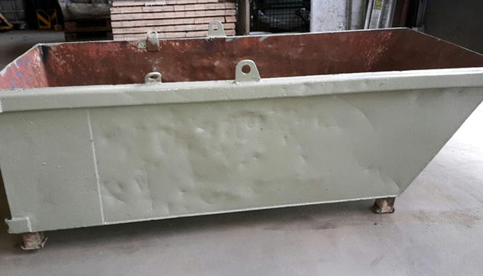 Absetz-Mulden - Verfügbar in der Größe ab 7 m³