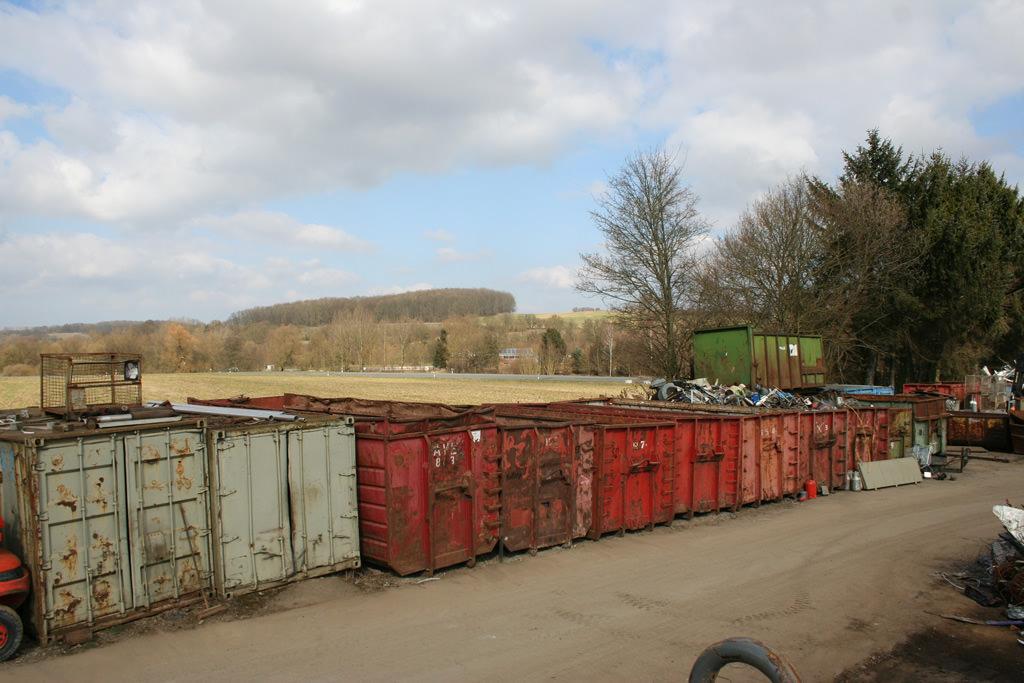 Container und Behälter für Metall der Krisch GmbH