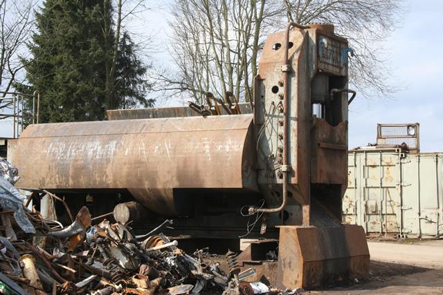 Schrottpresse von der Krisch GmbH