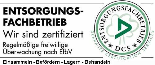 Zertifikat Krisch GmbH